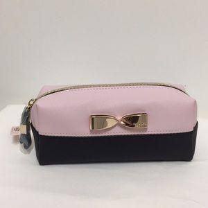 Victoria's Secret Cosmetic Case pink/black/gold